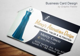 "2"" X 3.5"" Business Card Design"