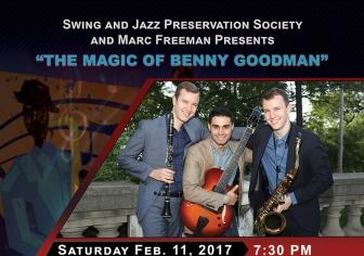 8.5x11 Flyer Design - Swing & Jazz Preservation Society