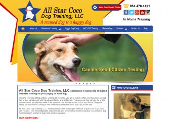 All Star Coco Dog Training, LLC