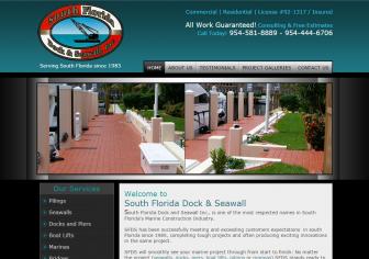 South Florida Dock & Seawall