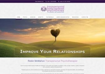 Robin McMahon Transpersonal Psychotherapist